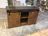 Barndoor console- northern custom design  Edmonton