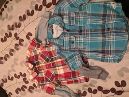 Size 3T $5 for both