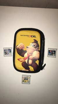 Nintendo 3ds Game case and Games