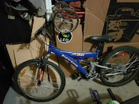*Broken* Blue Super Cycle scrap bike Mississauga