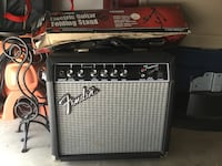 gray and black fender guitar amplifier Grovetown, 30813
