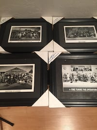 Various old timers Toronto Maple Leaf picture frames  Vaughan, L6A 2M6