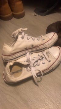 pair of white Converse All Star low-top sneakers Katy, 77449
