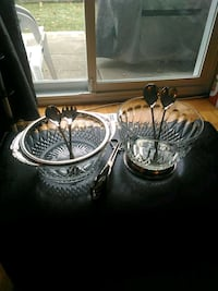 Glass Serving Bowls and spoons Mississauga, L5J 4C6