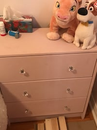 Pink night stands
