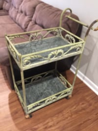 Metal and Marble Cart Metairie, 70006