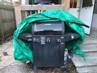 Black and gray gas grill. Bridgeport, 06605