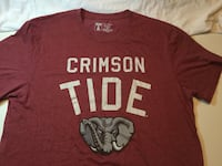ALABAMA CRIMSON TIDE Shirt Little Rock
