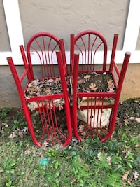 4 retro sturdy/heavy chairs Fortson, 31808