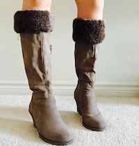 Pair of Brown Mid Calf Boots London, N6H 1S6