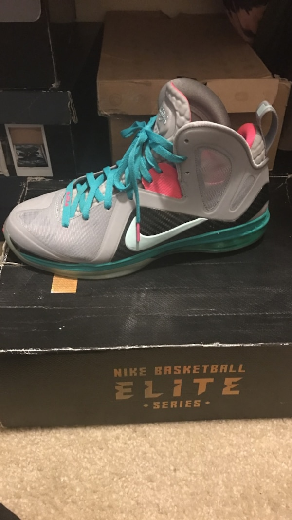 new style 3b5df a431b Used Nike Lebron 9 P.S. Elite South Beach w  box for sale in Turlock - letgo