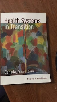 Health systems in transition Toronto