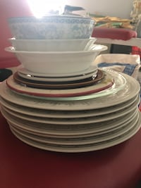 Plates and bowls ($0.50 each) Burnaby, V5C 5K7
