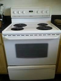 Perfectly working white stove . Montréal, H8N 1J2