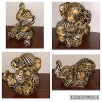FOR SALE SET 4 BEAUTIFUL ELEPHANT  Silver Spring