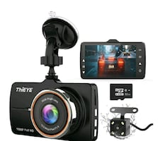 Front and Rear Car Camera Dual Dashcam FHD 1080P NEW ½ RETAIL
