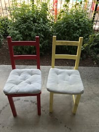 Two chairs and pads Eugene, 97401