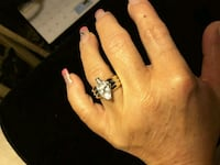 New Solitaire LG Cz Ring for a lovely Lady