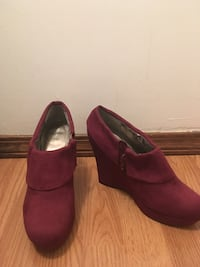 Burgundy Wedges by Mossimo  Bloomington, 47408