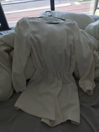 Wilfred romper (open back) size small