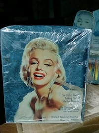 Marilyn Monroe trading cards sealed cases 36 packs per box