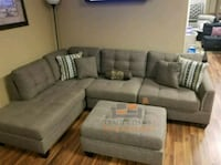 Brand New Coffee Color Linen Sectional Sofa  Silver Spring, 20902