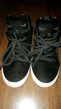 Cat velvet high tops.