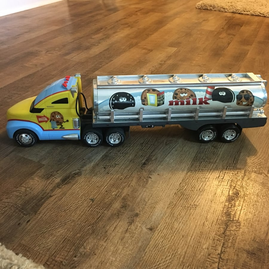 Toy truck with lights & sounds