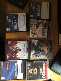 Five  sony ps3 games Graton, 95444