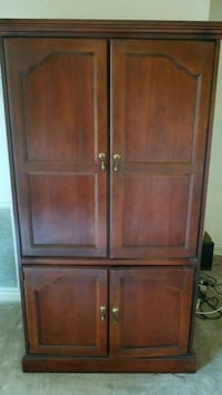 Cherry Wine Armoire Great Condition Must Pick Up Hyattsville, 20785