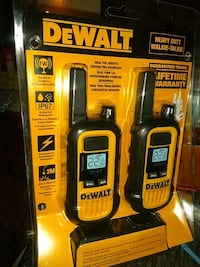 DeWalt rugged long range walkie talkies Chico, 95973