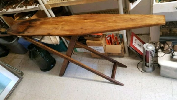 Antique Wood Ironing Board