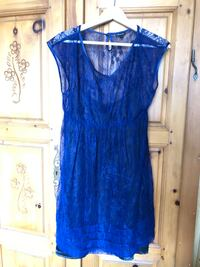 lace with lining blue dress Dollard-des-Ormeaux, H9A 2J9