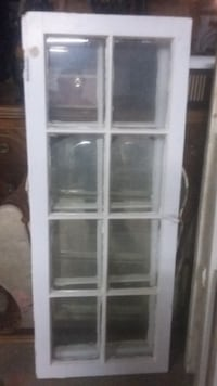 REDUCED - Vintage 8 pane Wooden Windows
