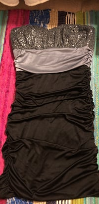 Black/grey sparkly fitted dress Richmond Hill, 31324
