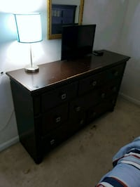 brown wooden dresser Woodbridge, 22193
