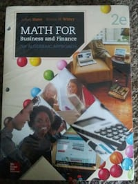 math for business and finance .college book brand new still in plastic