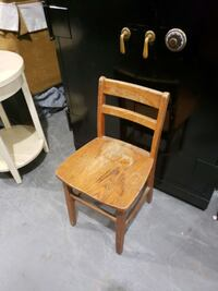 Solid wood vintage kids chair Mooresville