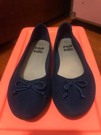 Size 2 Navy Blue little girl Ballerina flats Washington, 20024