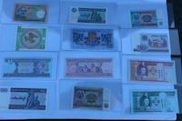 Uncirculated bills from around the world Richmond, 94804