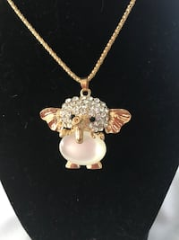 SWEET BABY ELEPHANT WITH EXTRA LONG SWEATER CHAIN, must pick up, brand new Amarillo, 79109