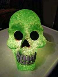Plug in green skull light Wichita, 67208