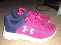pair of pink-and-white Under Armour sneakers San Antonio, 78247