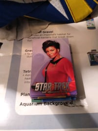 Dave and Buster's Star Trek Cards