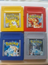 Pokemon Red,Blue,Yellow,Silver  Hanover Park, 60133