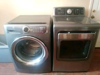 gray Samsung washer and dryer set Columbus, 31903