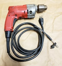 """Milwaukee Magnum 0234-1 Holeshooter ½"""" Heavy Duty Corded Drill Vancouver"""