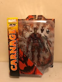 Marvel Select Carnage Figure  New York, 10036