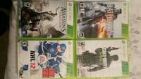 X-box 360 games all 4 for $10 3126 km
