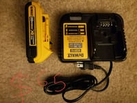 yellow and black DeWalt power tool battery charger Smyrna, 30080